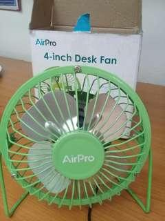 airpro usb fan for pc or laptop