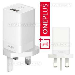 Genuine Official OnePlus5 Dash UK 3 Pin Charger