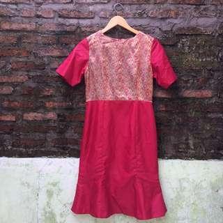 Mermaid Red Dress