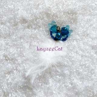 [Ready Stock] CTA035 Butterfly Feather Teaser Accessories