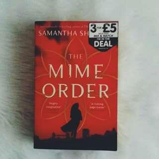 Tpb: The Mime Order by Samantha Shannon