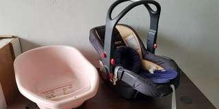 Sunshine kids baby safety cot car seat