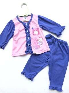 Fiffy Baby Girl Pyjamas 3-6 months