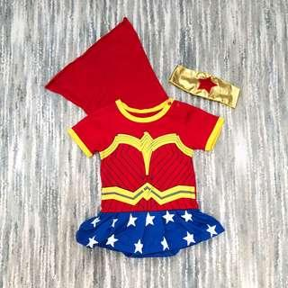 Wonder Woman Baby Costume (12M)