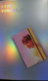 BTS Love Yourself: Answer - Jimin Photocard [Laminated]