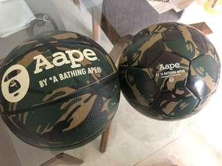 1e4c6ce3b68eba Aape Basket ball or soccer ball by A bathing Ape