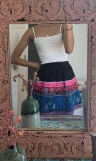 Colourful Hmong skirt