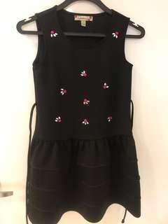 Little Girl Black formal dress