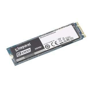 SSD Kingston A1000 240GB PCIe NVMe M.2 2280 Internal SSD