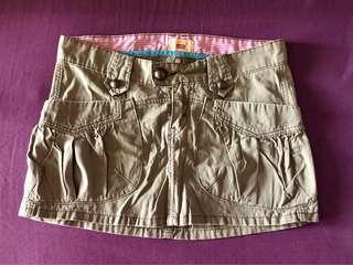 Levi's Tab Twills Mini Skirt