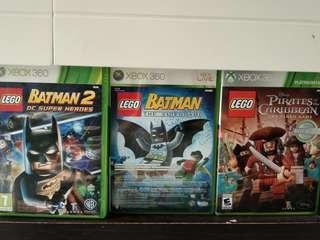 Xbox 360  lego series