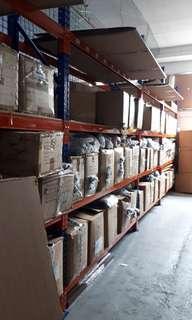 Warehouse storage rack shelve