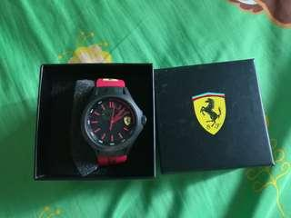 Brand new unworn ferrari original authentic watch not seiko citizen swatch