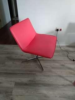 Lounge Chair (Red)