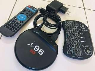 #GADGET100 ANDROID BOX + KEYBOARD REMOTE