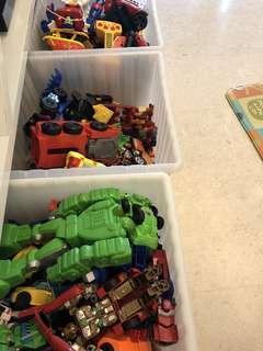 Grab bag for toys (boys age 1-3)