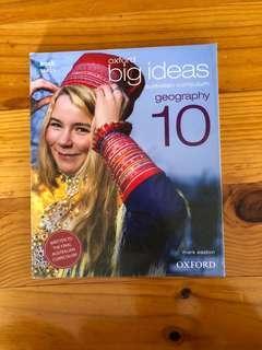 Oxford Big Ideas Geography Year 10 Textbook