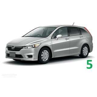 1 Week Contract Honda Stream $400