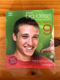 Oxford Big Ideas Geography and History Year 9 Textbook