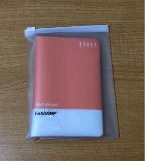 Red Velvet Passport Holder Pantone goods