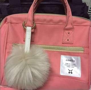 ZARA Fur Ball Bag Charm 02256499af90c