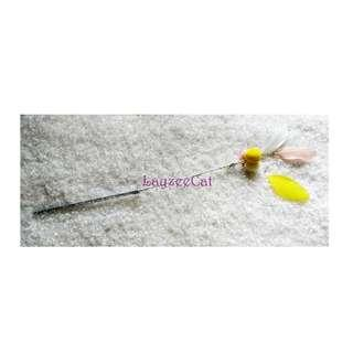 [Ready Stock] TW113 FurBall with Feather Exclusive Handmade Cat Teaser