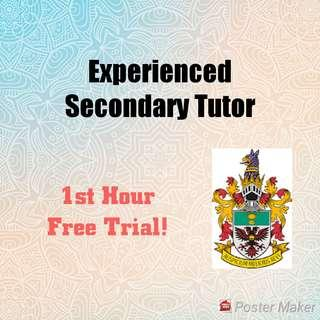 Maths and Science Tutor