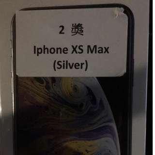 全新XS MAX 512GB 銀色 silver iPhone apple
