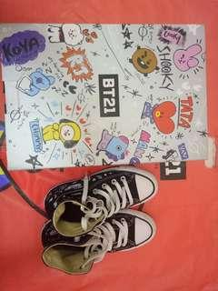 BTS BT21 Converse Shoes Official - installment available