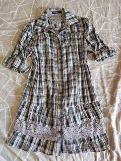 Penshoppe Checkered Dress