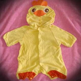 Chicken costume for baby 0-6mos.