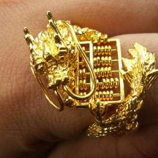 3D Dragon 916 Ring