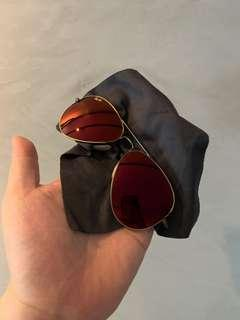 Rayban red tinted Sunglasses