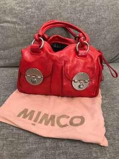 Mimco mini turnlock bag