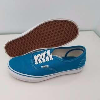 VANS Low-Cut Blue Shoes Women Size 8