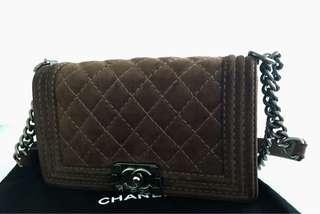 Authentic Chanel Boy