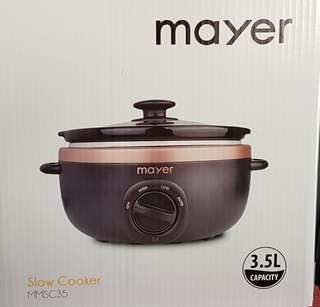 Mayer slow cooker