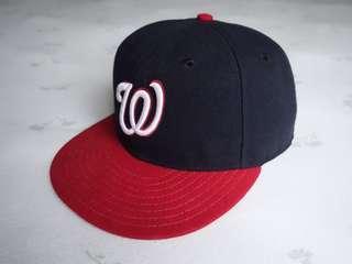 Washington MLB on field hat cap fullcap