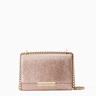 Brand New Kate Spade BURGESS COURT HAZEL ROSE GOLD handbag party