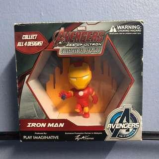 Avengers Collectible Hexagon Ironman #MY1212