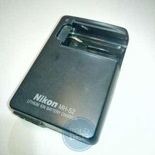 Genuine Nikon MH-52 Li-Ion Battery Charger For Digital Camera