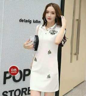 Korean Polo Dress