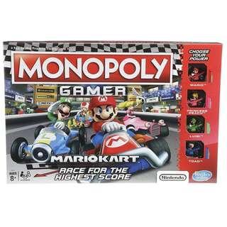BNIB: Monopoly Gamer Mario Kart by Hasbro Gaming