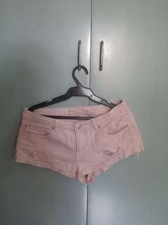 Preloved Forever21 pink shorts