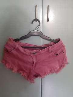 Forever21 pink shorts