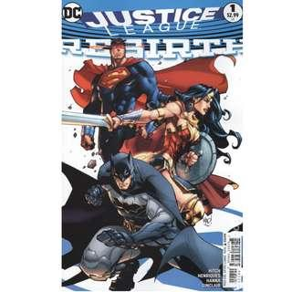 Justice League Rebirth (2016) 1 to 5 complete set