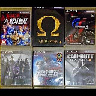 🚚 PS3 GAMES 遊戲 光碟