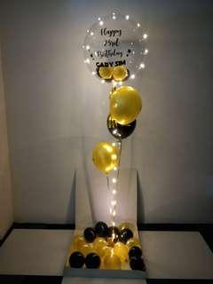 Surprise box balloons
