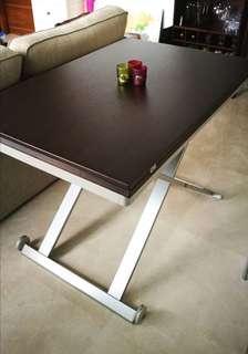 Italian Designer Dining Table. Expandable.