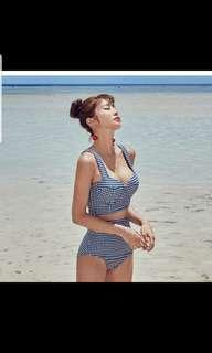 New Checkered swimsuit! Last piece!